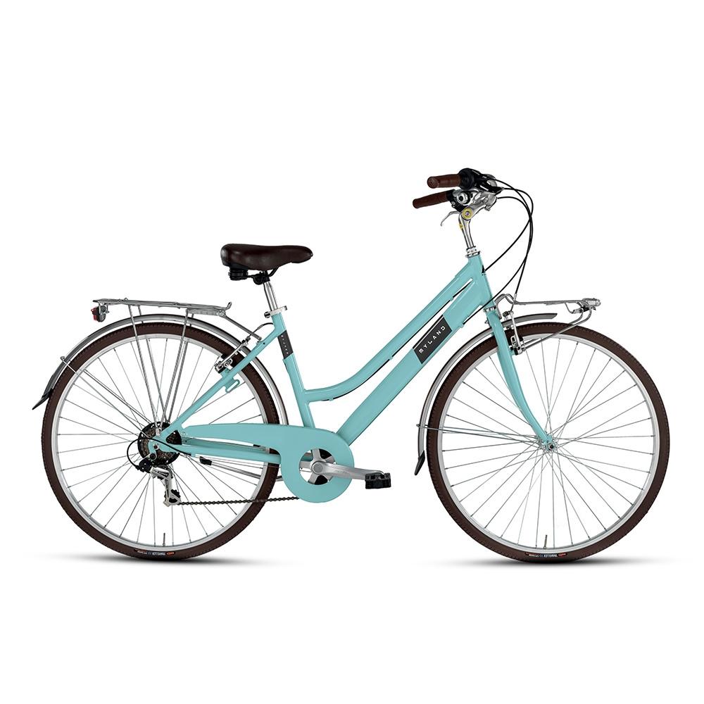 City bike 28'' 6s Woman Light Blue Size 46