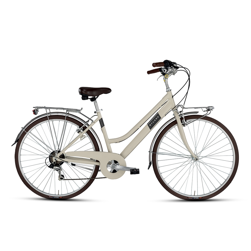 City bike 28'' 6s Woman Beige Size 46