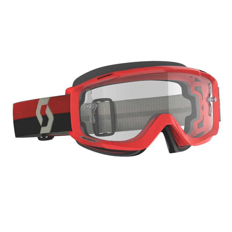 Maschera Split OTG rosso lente clear works