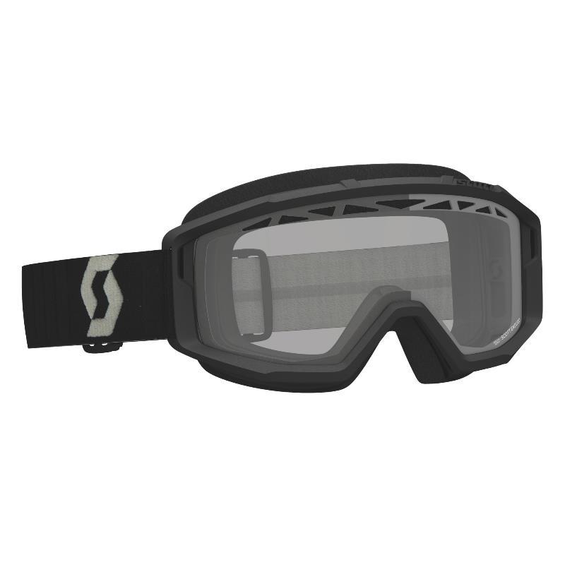 Maschera Primal enduro Nero - Lente trasparente