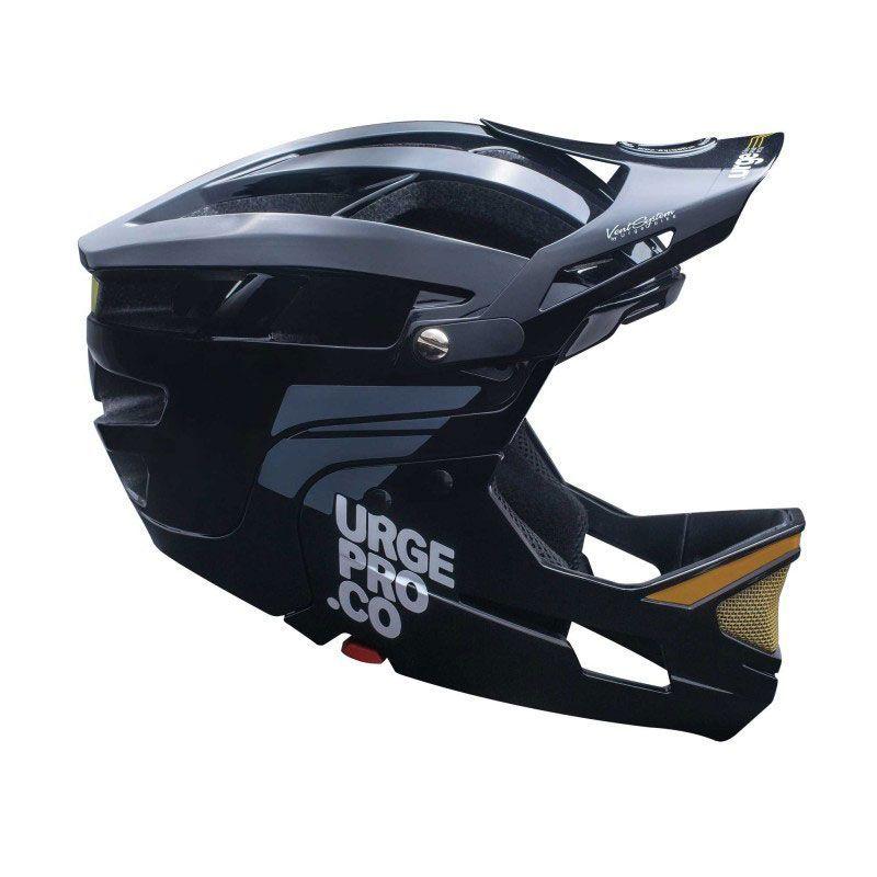Full face helmet Gringo de la Sierra black size S/M (55-58)