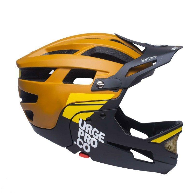 Full face helmet Gringo de la Sierra brown size S/M (55-58)