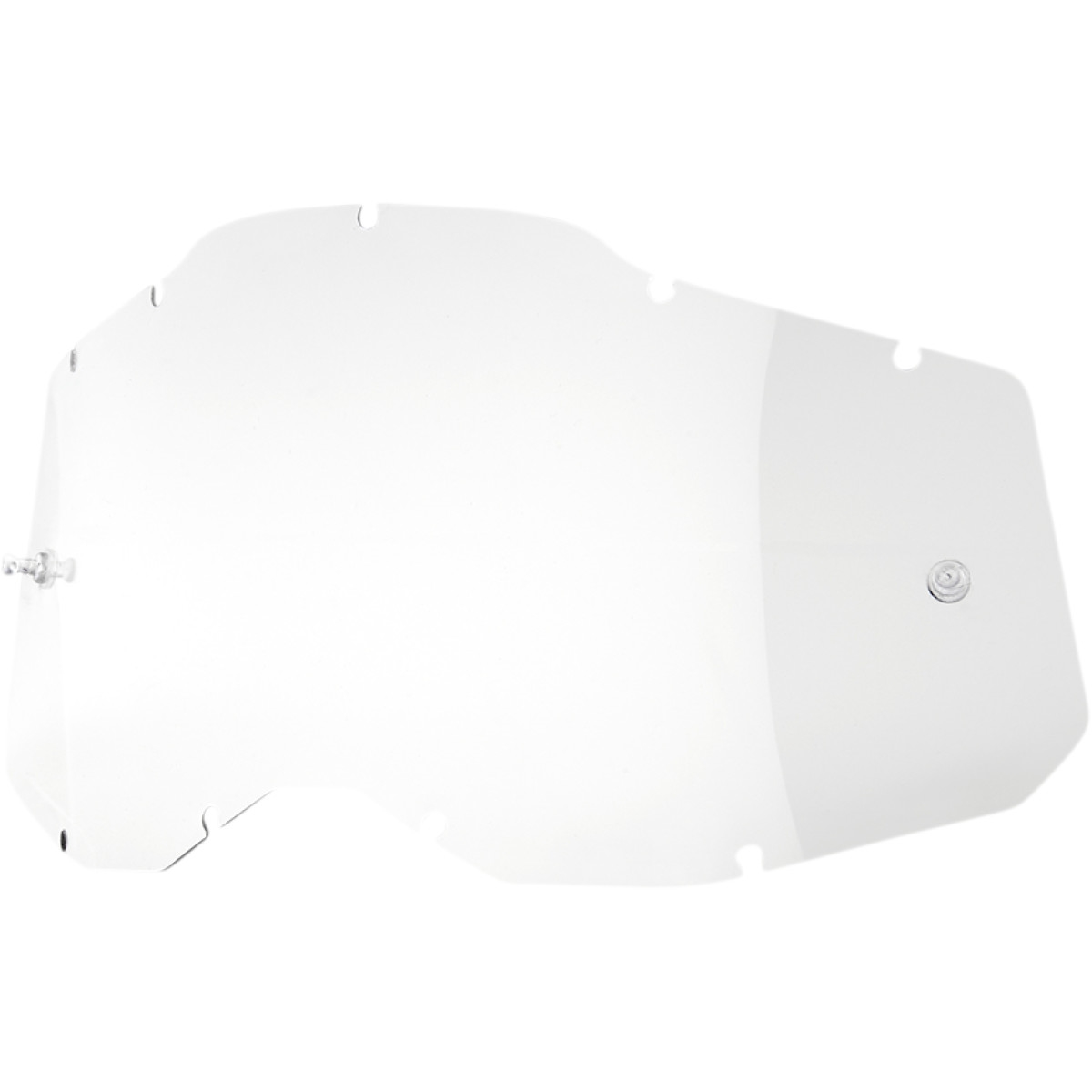 Replacement Lens for Racecraft 2, Accuri 2 and Strata 2 Masks - Transparent clear