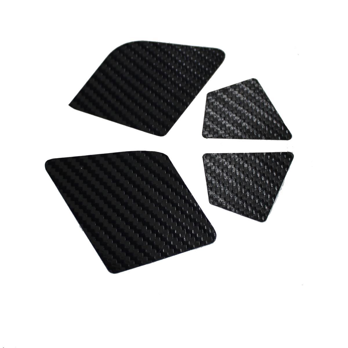 Coppia adesivi di ricambio carter Integra XF1 Carbon 160mm 2019
