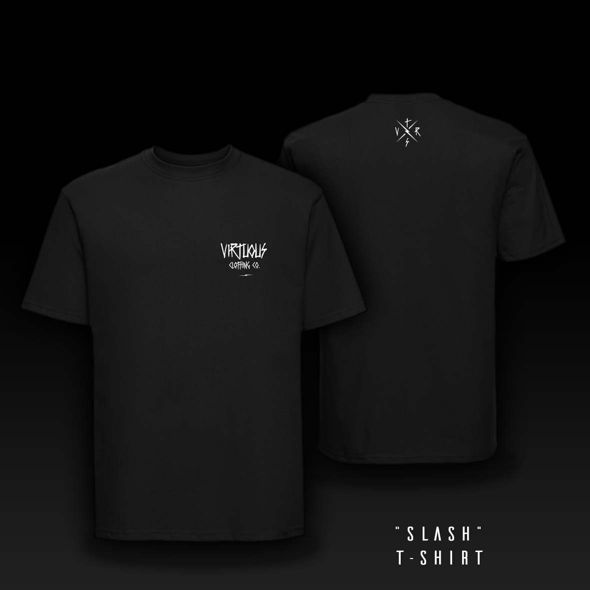 T-Shirt Slash nero taglia S