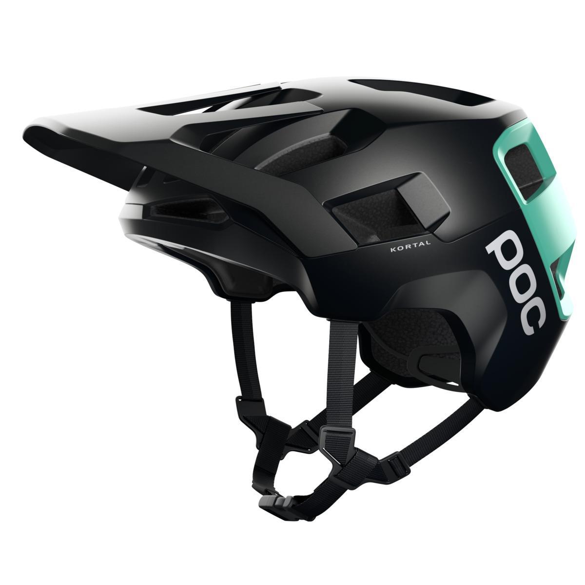 Helmet Kortal Uranium Black / Fluorite Green size XS-S (51-54)
