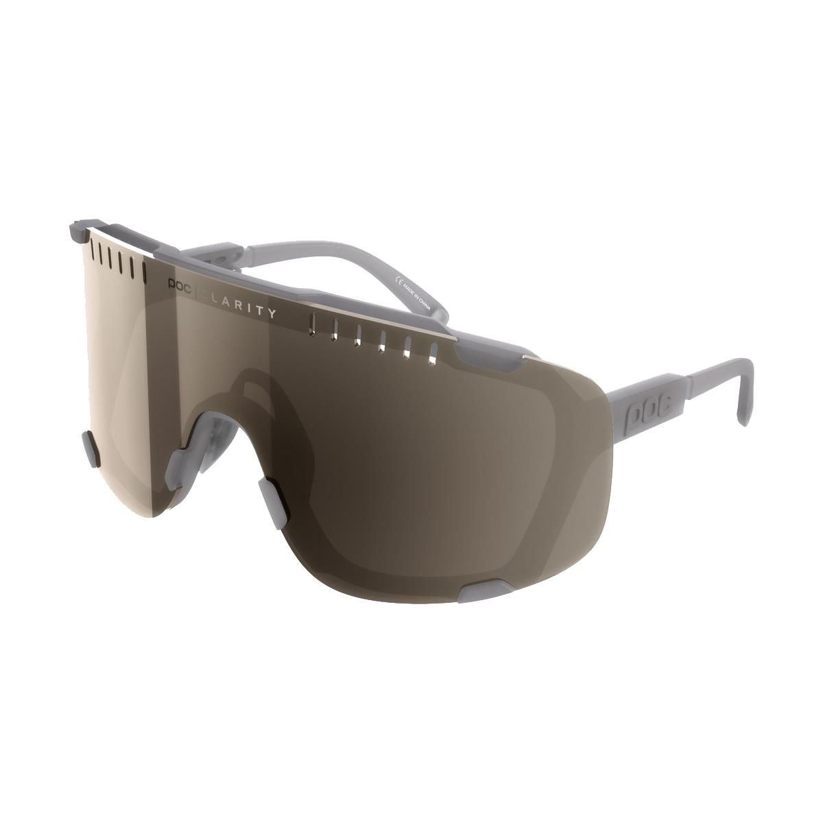 Sport glasses Devour Moonstone Gray BSM clarity lens
