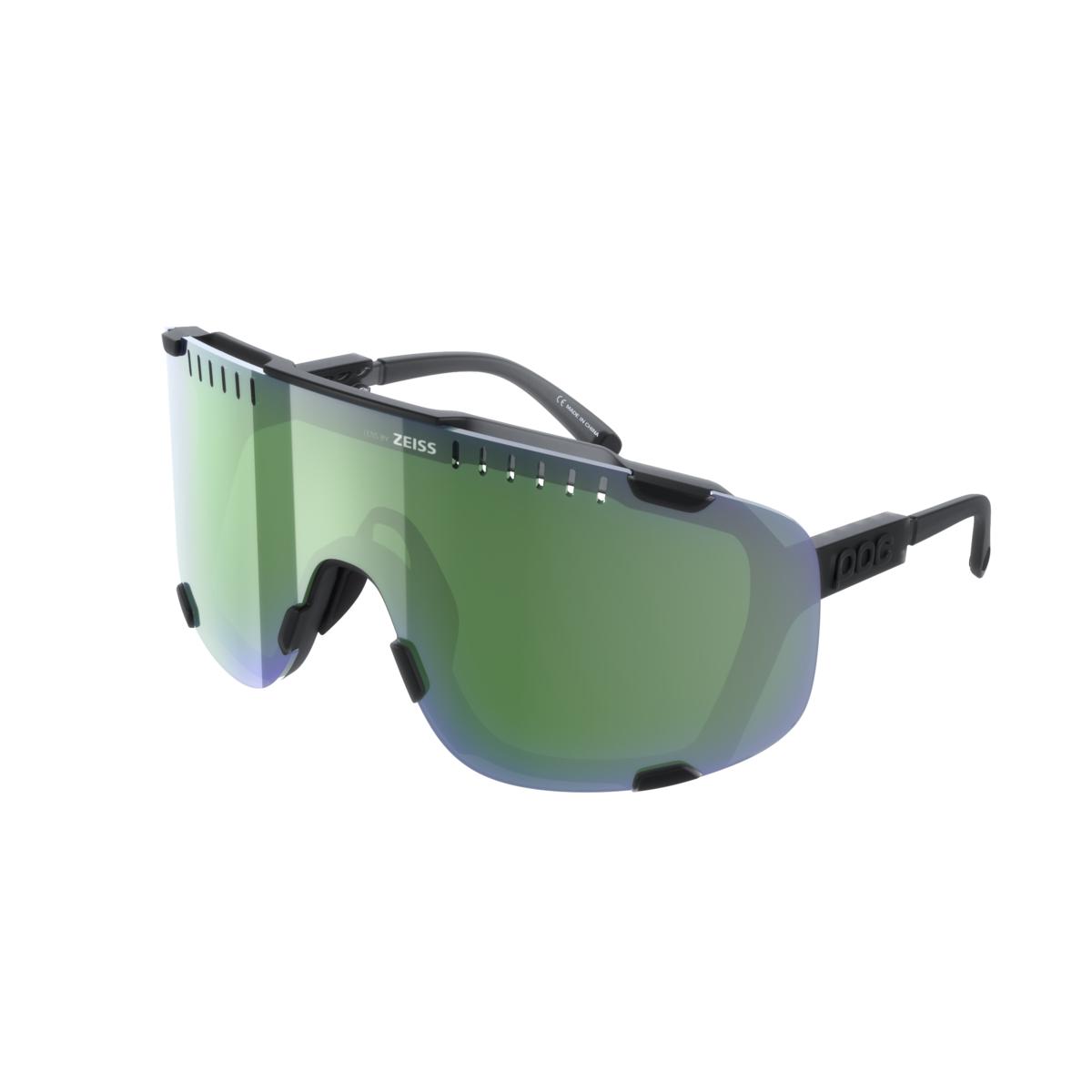 Occhiali Devour Black Translucent lente clarity GDG