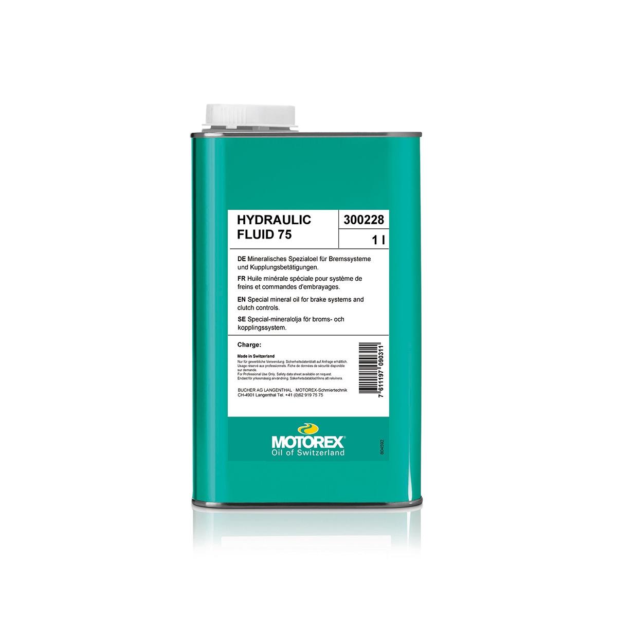 Olio Minerale Hydraulic Fluid Bottiglia 1L