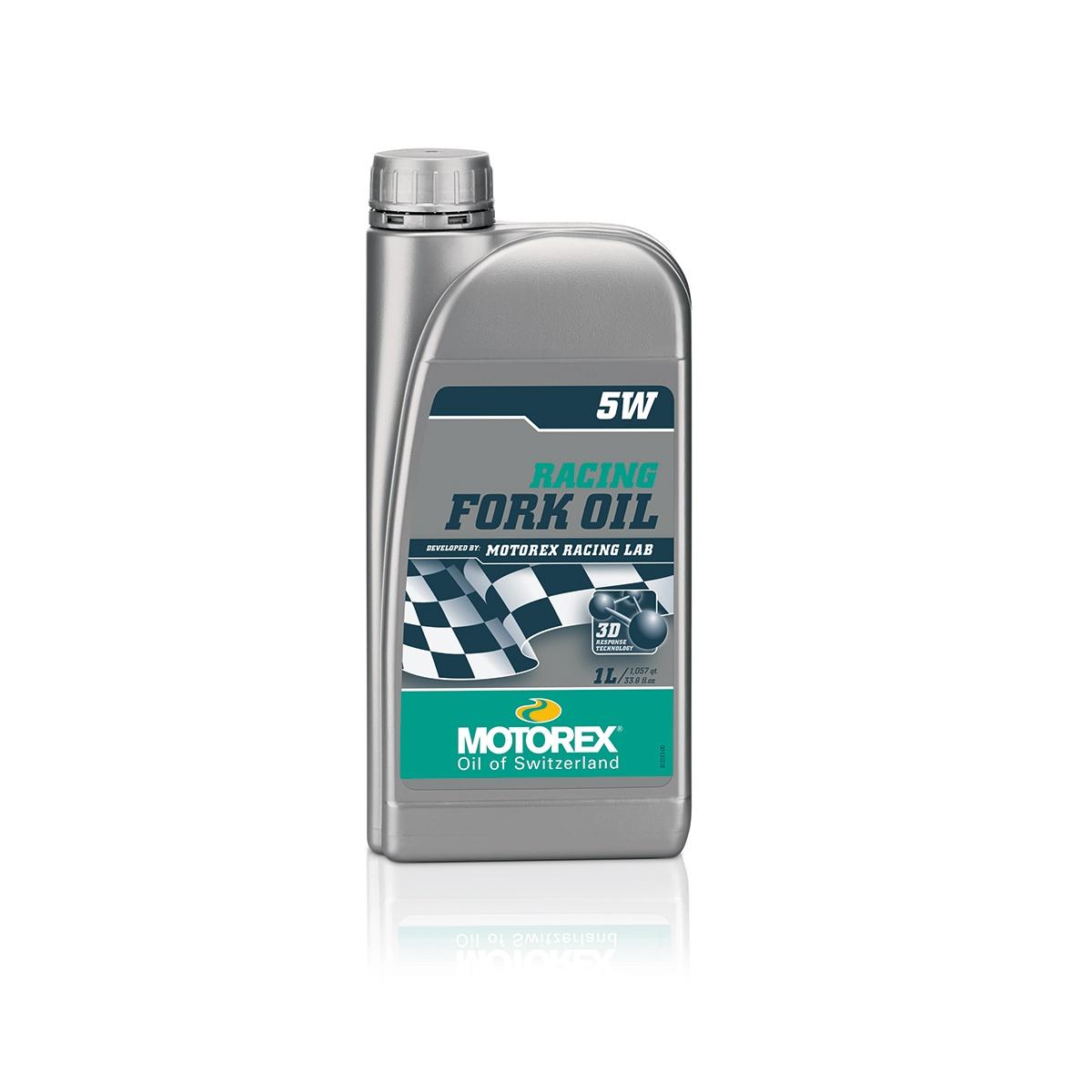 Olio Racing per Forcella 5W Bottiglia 1L