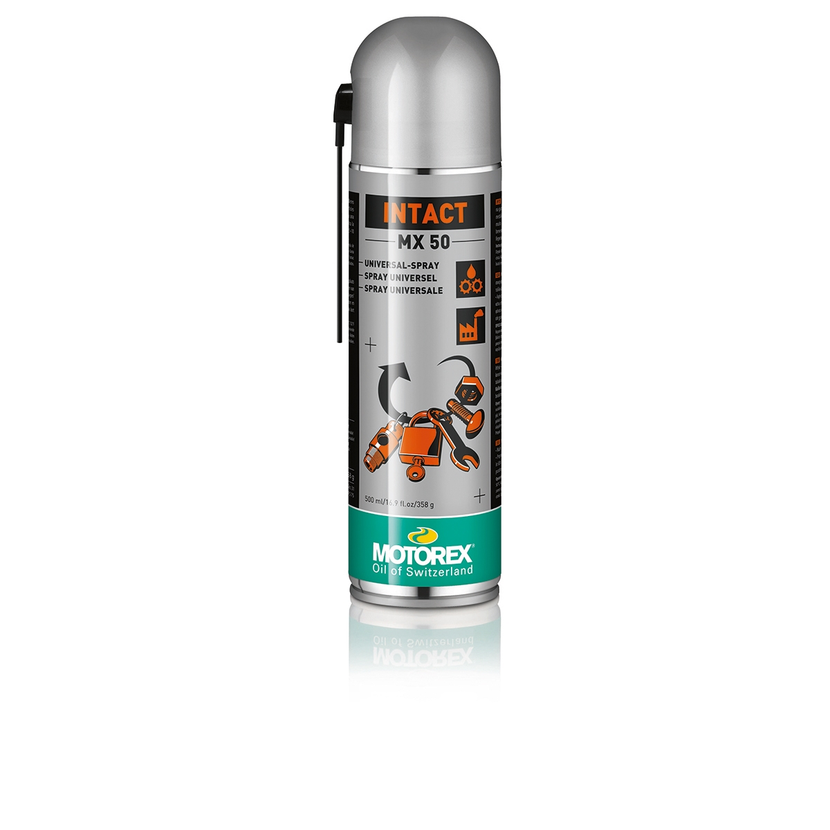 Spray lubrificante Intact MX50 Idrorepellente Anticorrosione Aerosol 500ml