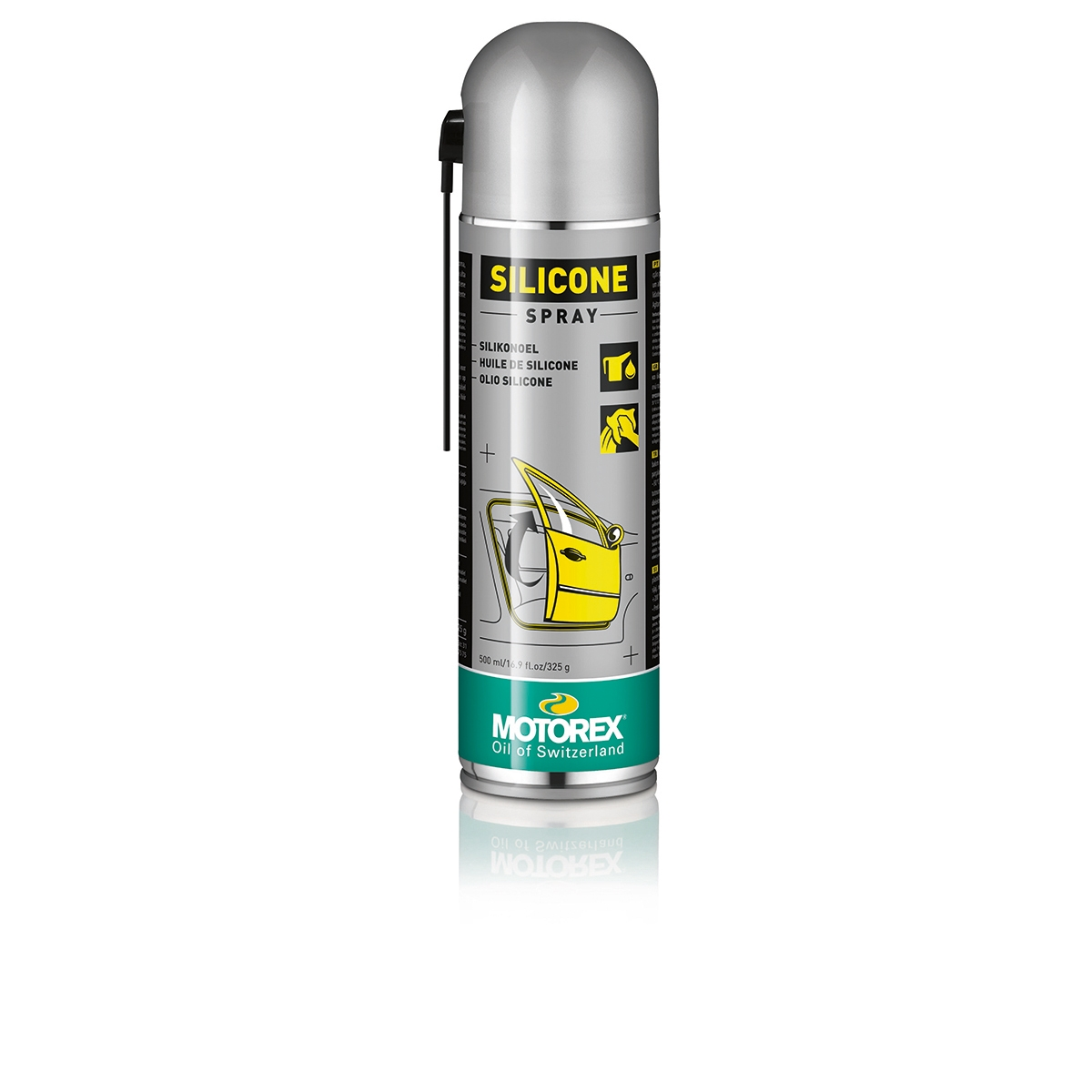 Spray Lube and Protector Silicone Aerosol 500ml
