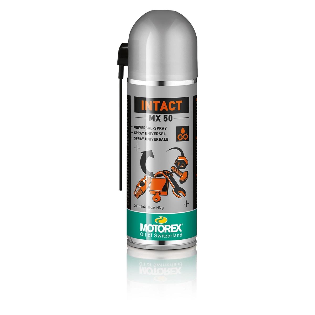 Spray Lubrificante Intact MX50 Antistatico Aerosol 200ml