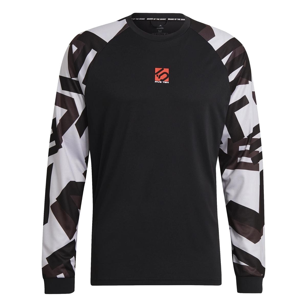 Long-Sleeve Jersey 5.10 TrailX Black/White 2021 Size S