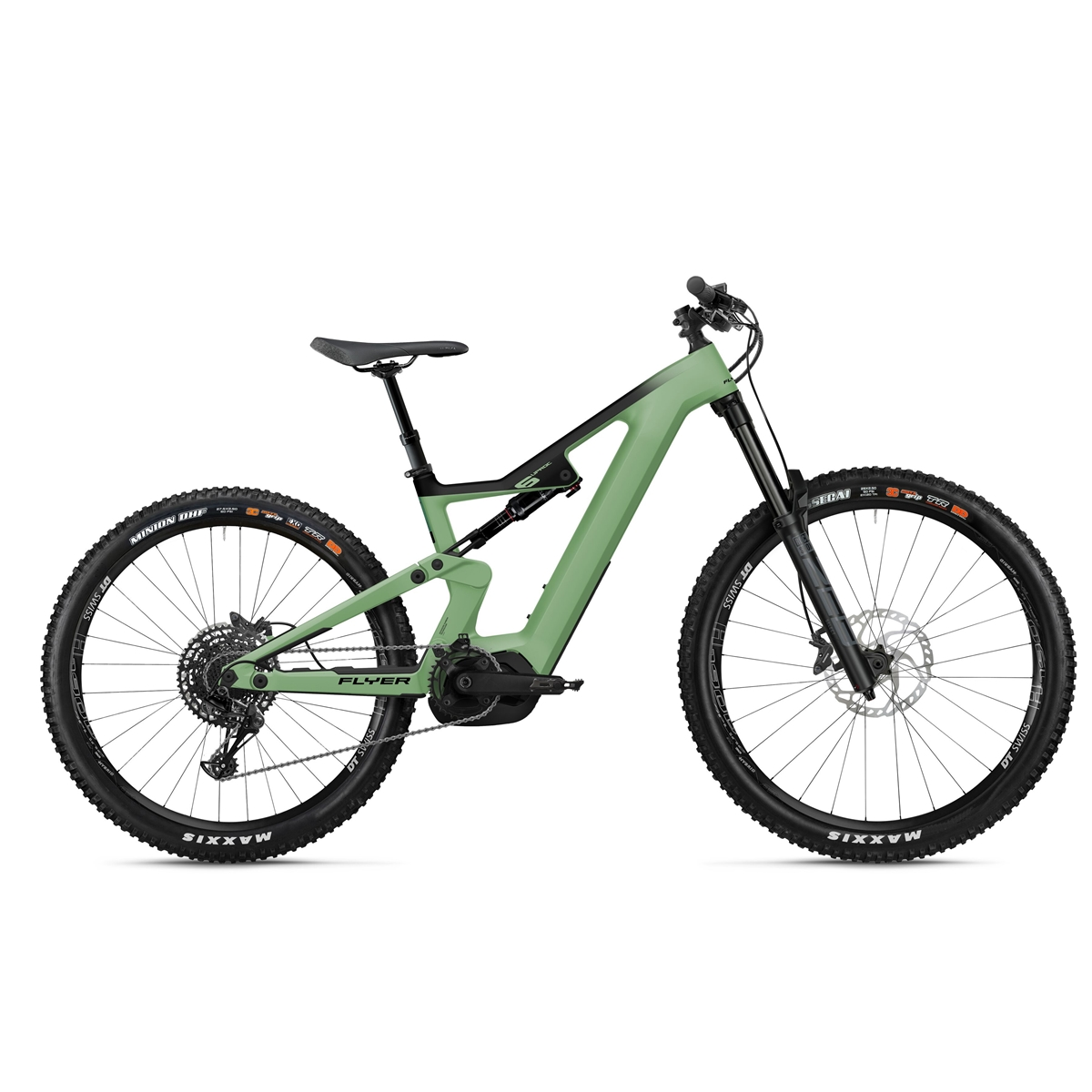 Uproc6 6.50 29''/27.5'' 170mm 12s 625Wh Bosch Performance CX Green 2021 Size S