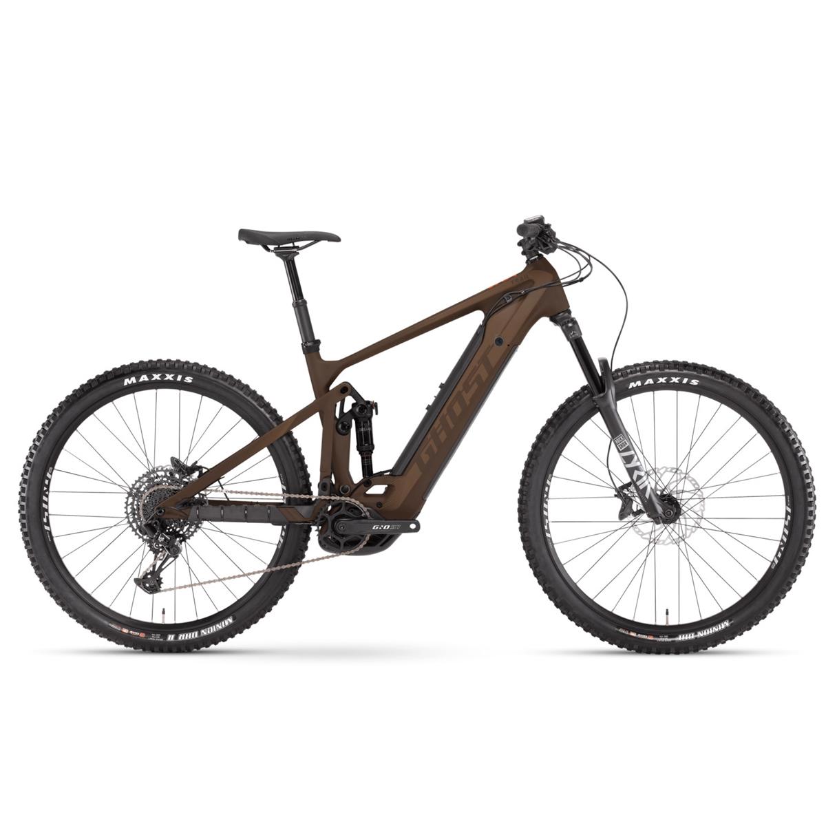 E-Riot Trail CF Advanced 27.5'' 150mm 12s Bosch CX 625Wh Brown 2021 Size S