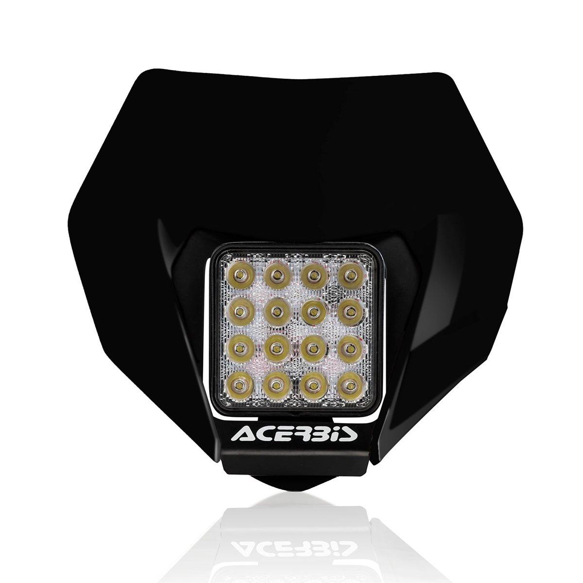 Universal VSL headlight mask - Black