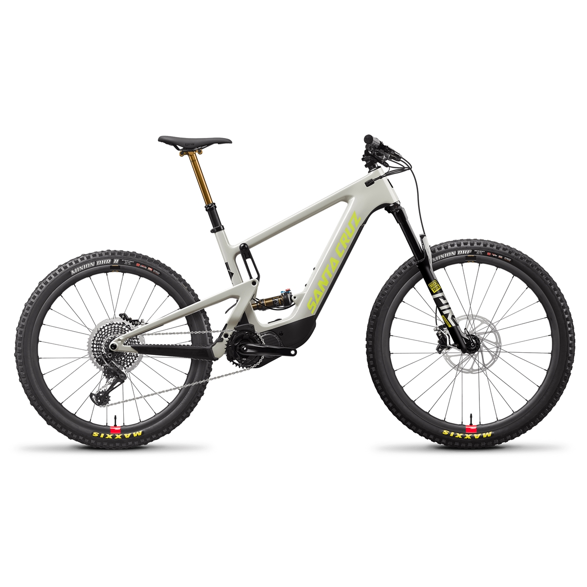 Heckler CC MX LITE X01 RSV 29''/27.5'' 140mm 12s 504Wh Shimano EP8 2021 Grey Size M