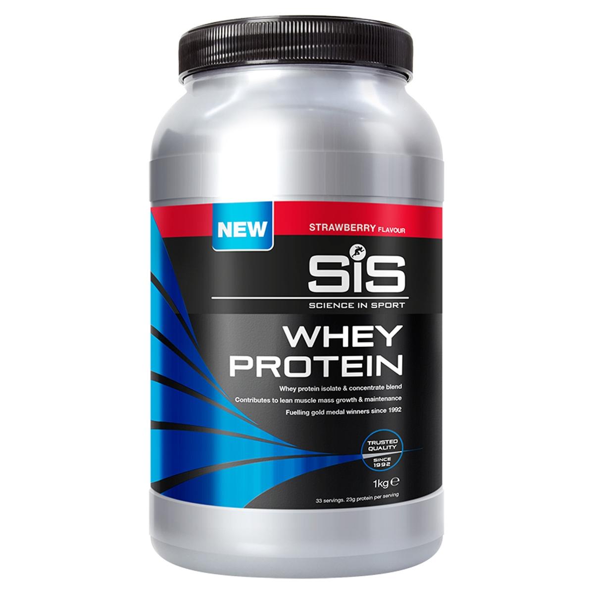 Whey Protein Powder Strawberry Flavor 1kg