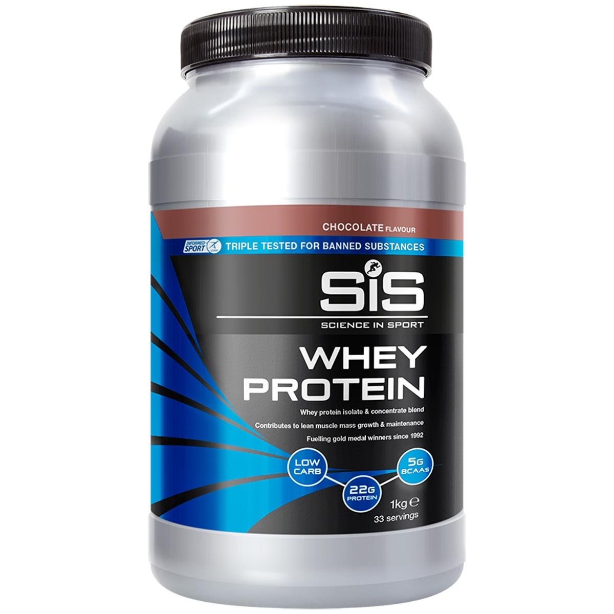 Proteine del Siero del Latte Whey Protein Gusto Cioccolato 1kg
