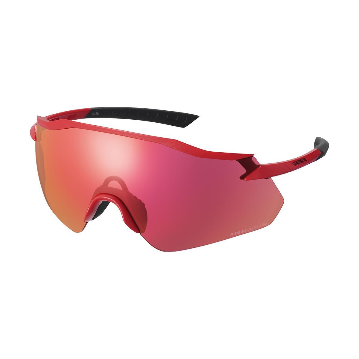 Equinox Sunglasses Red / Ridescape RD Road Lens