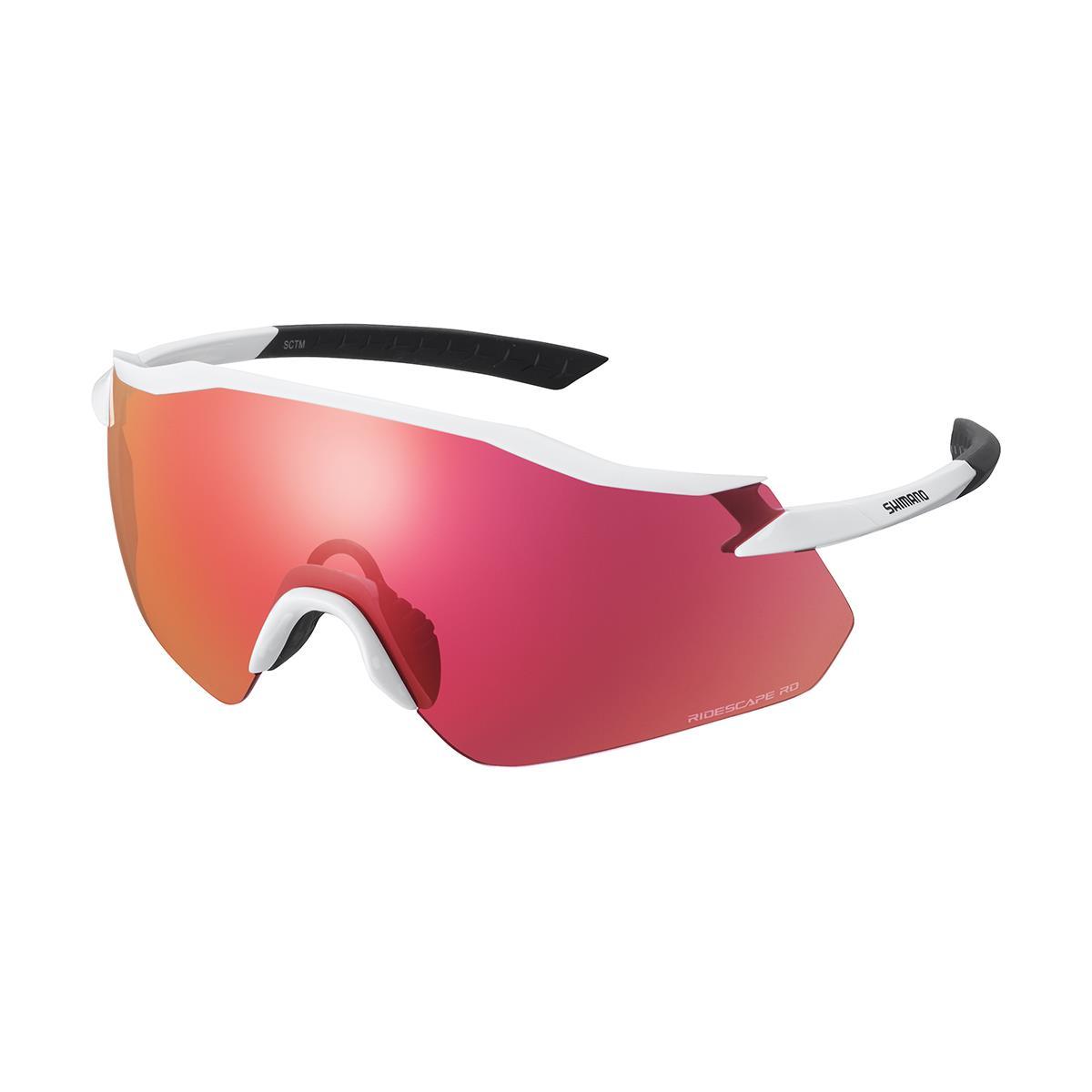 Equinox Sunglasses White / Ridescape RD Road Lens