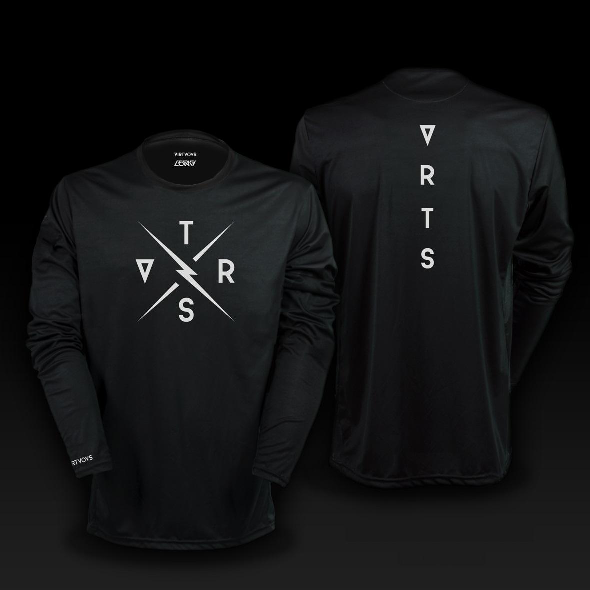Long sleeve Jersey Legacy Black size S