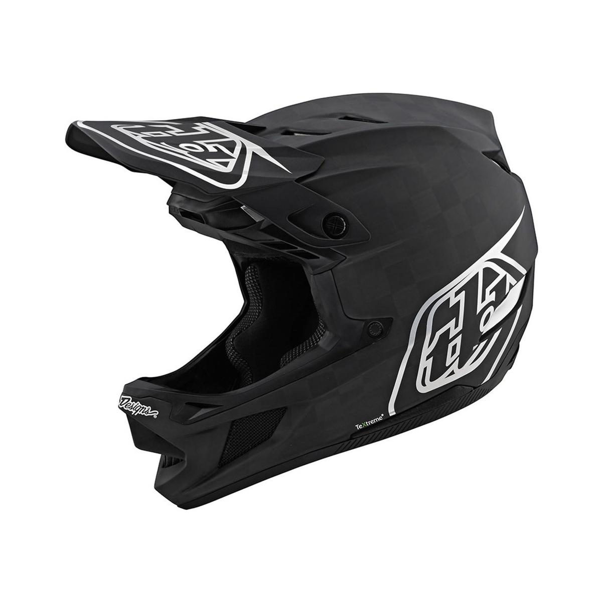Full Face Helmet D4 MIPS TeXtreme Carbon Stealth Black/Silver Size XS (53-54cm)