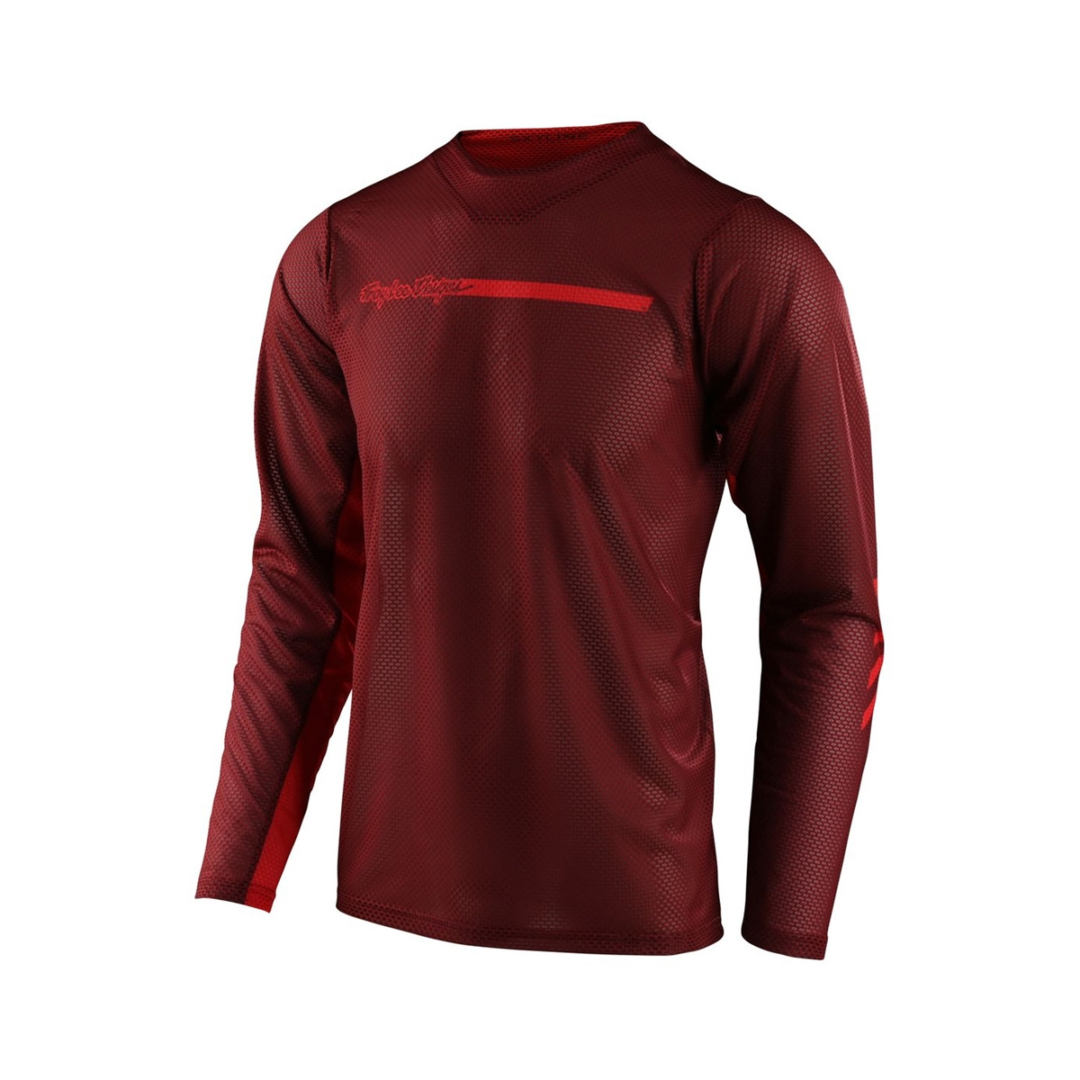 Jersey Skyline Air Channel Long-Sleeve Red Size S
