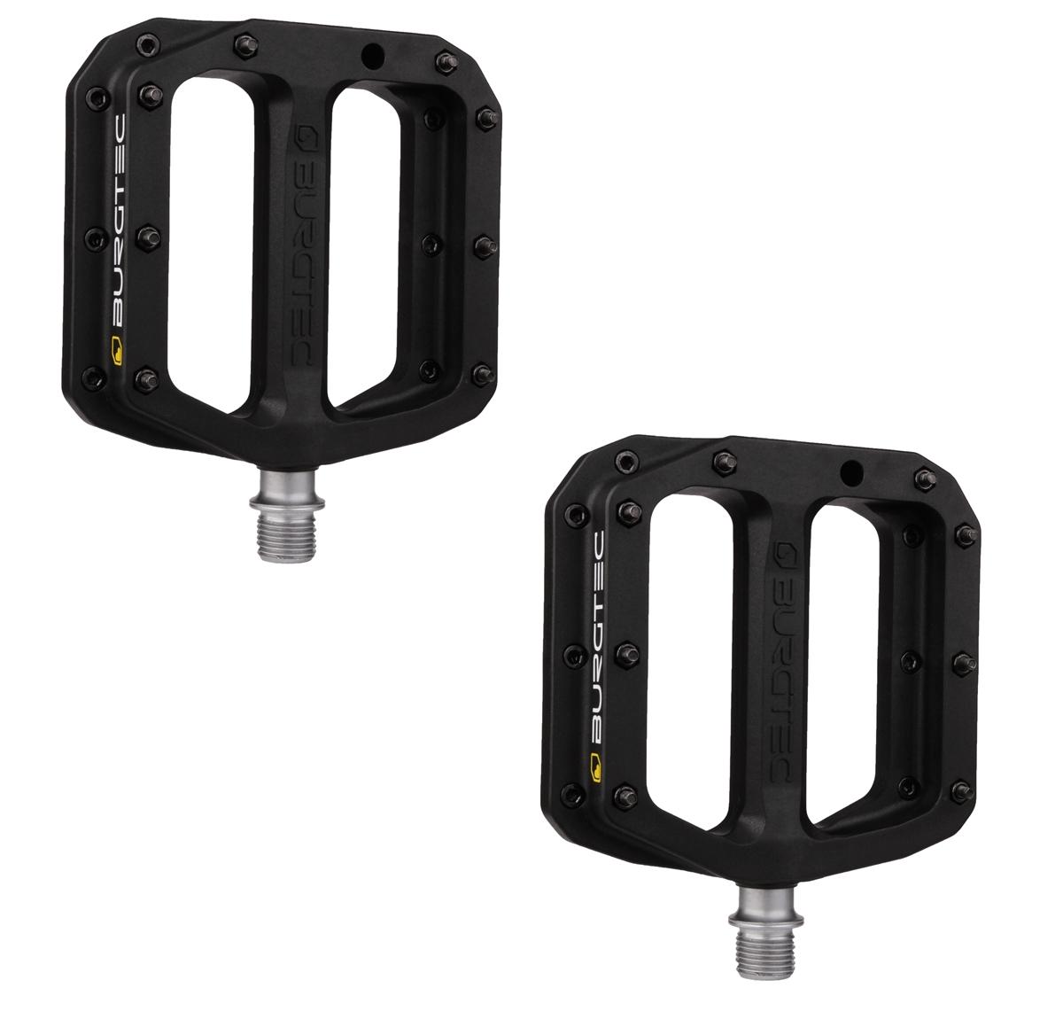 Flat Pedals Set MK4 Composite 1501 Black