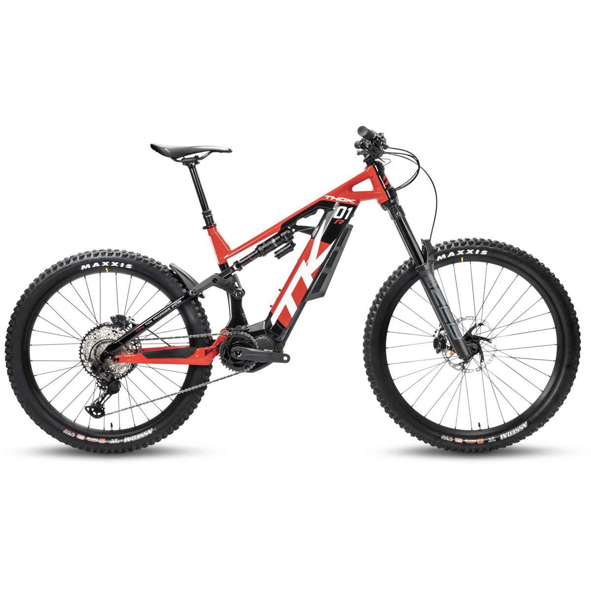 TK01 R 29''/27.5'' 170mm 12v 630Wh Shimano EP8 Black/Red 2021 Size S