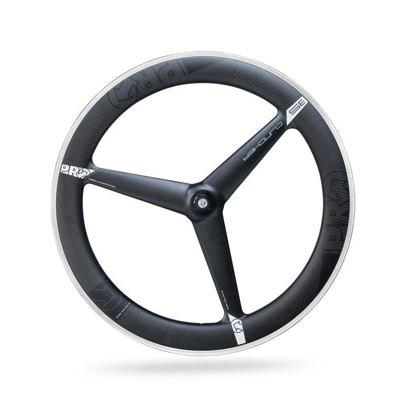Front 3-spoke Wheel Clincher Tire