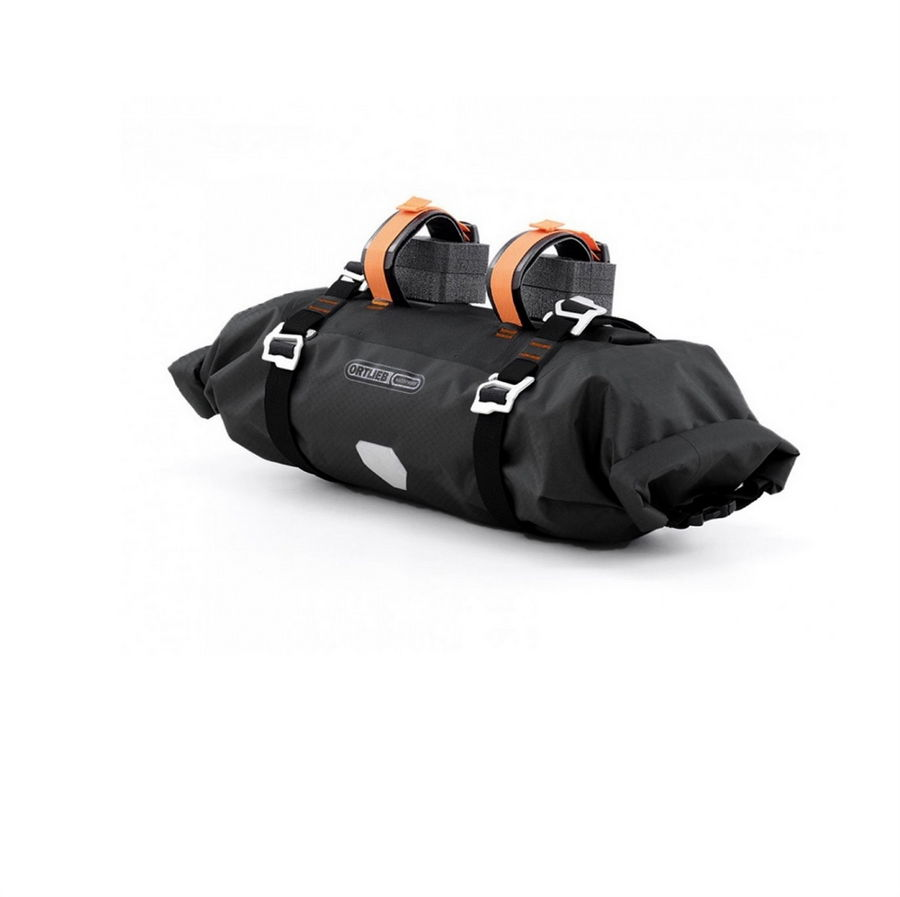 Borsa bikepacking manubrio Handlebar-Pack L 9lt F9932 nero