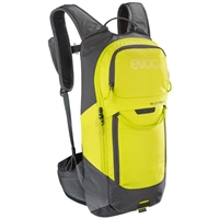fr lite race backpack 10lt size s carbon grey - sulphur yellow