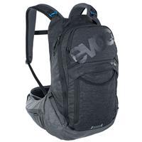 zaino trail pro 16 litri nero - carbon grey taglia s/m grigio