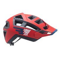 casco enduro all-air ert rosso taglia s/m (54-57) rosso