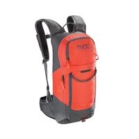 fr lite race backpack 10lt size s carbon grey - orange orange