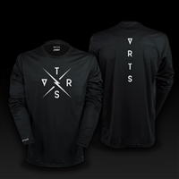 long sleeve jersey legacy black size s black