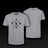 t-shirt legacy grey size s gray