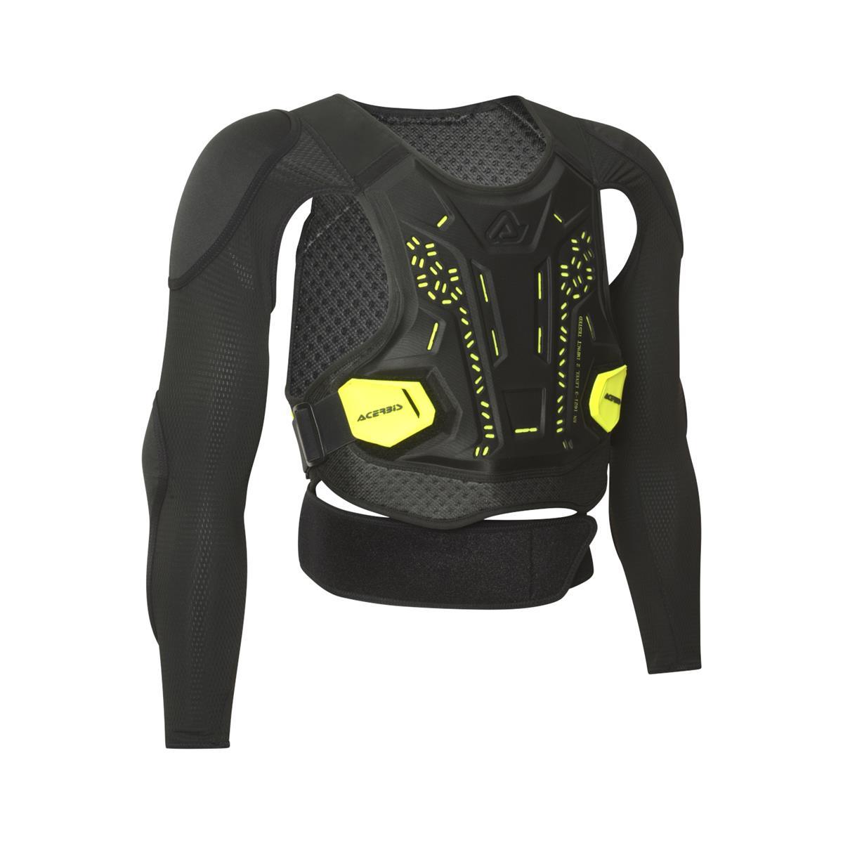 Body Armour Plasma Level 2 Black/Yellow Size S/M