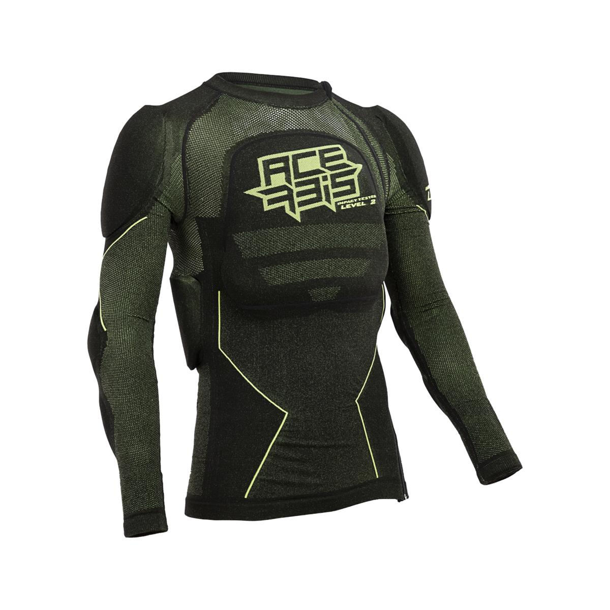 Body Armour X-Fit Future Level 2 Black/Yellow Size S/M