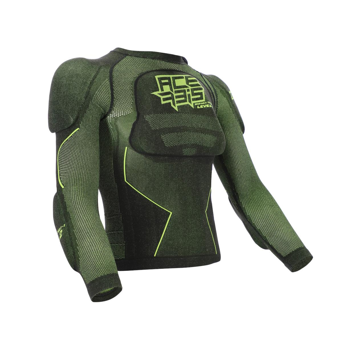 Body Armour X-Fit Future Level 2 Kid Black/Yellow Size S/M