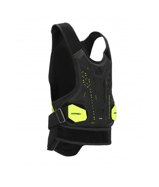 Chest/Back Protector DNA Black/Yellow Size S/M