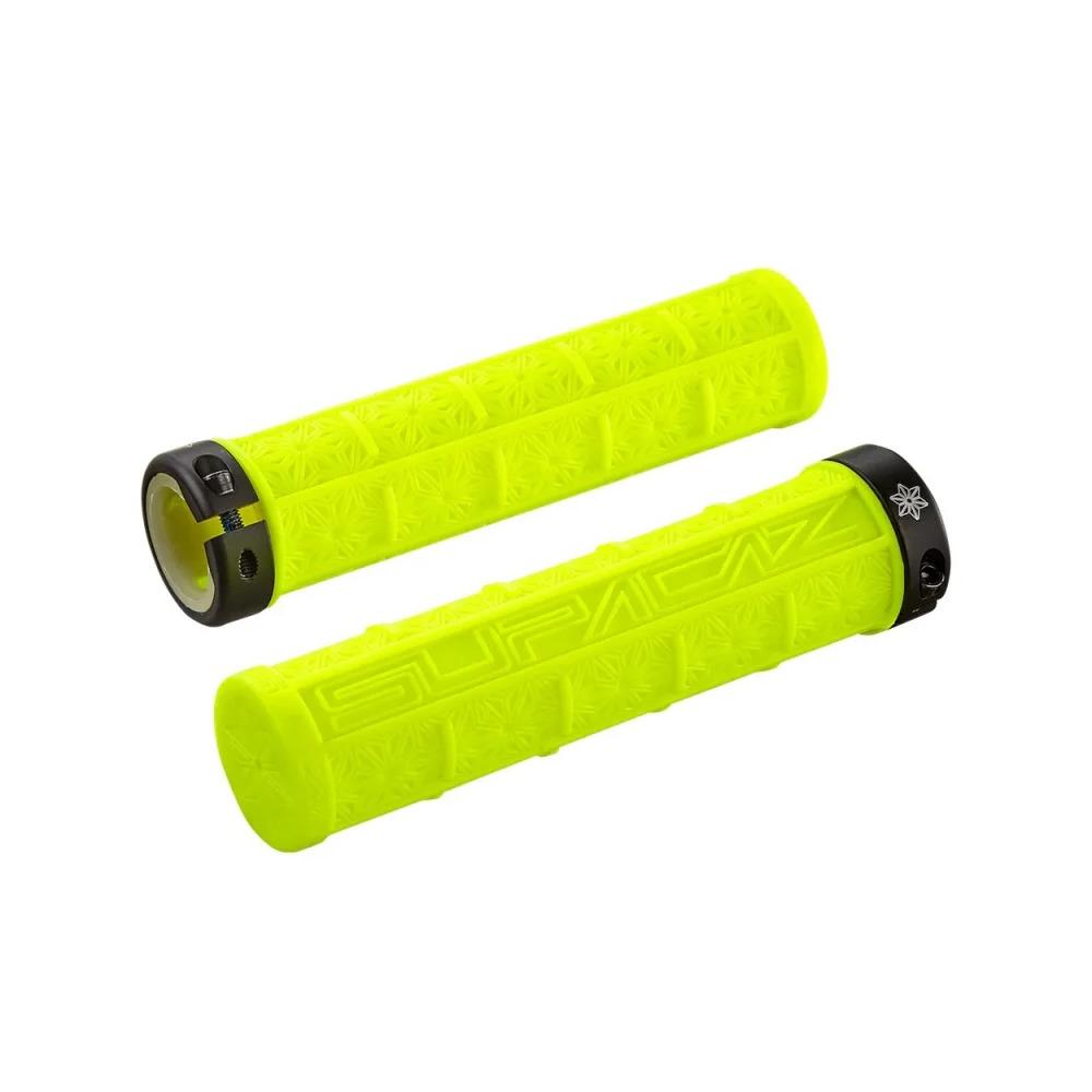 Grips Grizips Lock-On 32mm x 135mm Neon Yellow