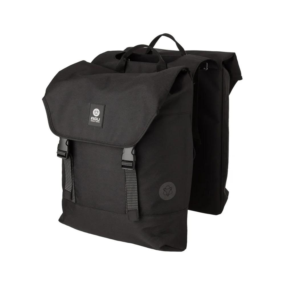 Borse Posteriori Portapacchi Urban Double Bag DWR 36L Nero