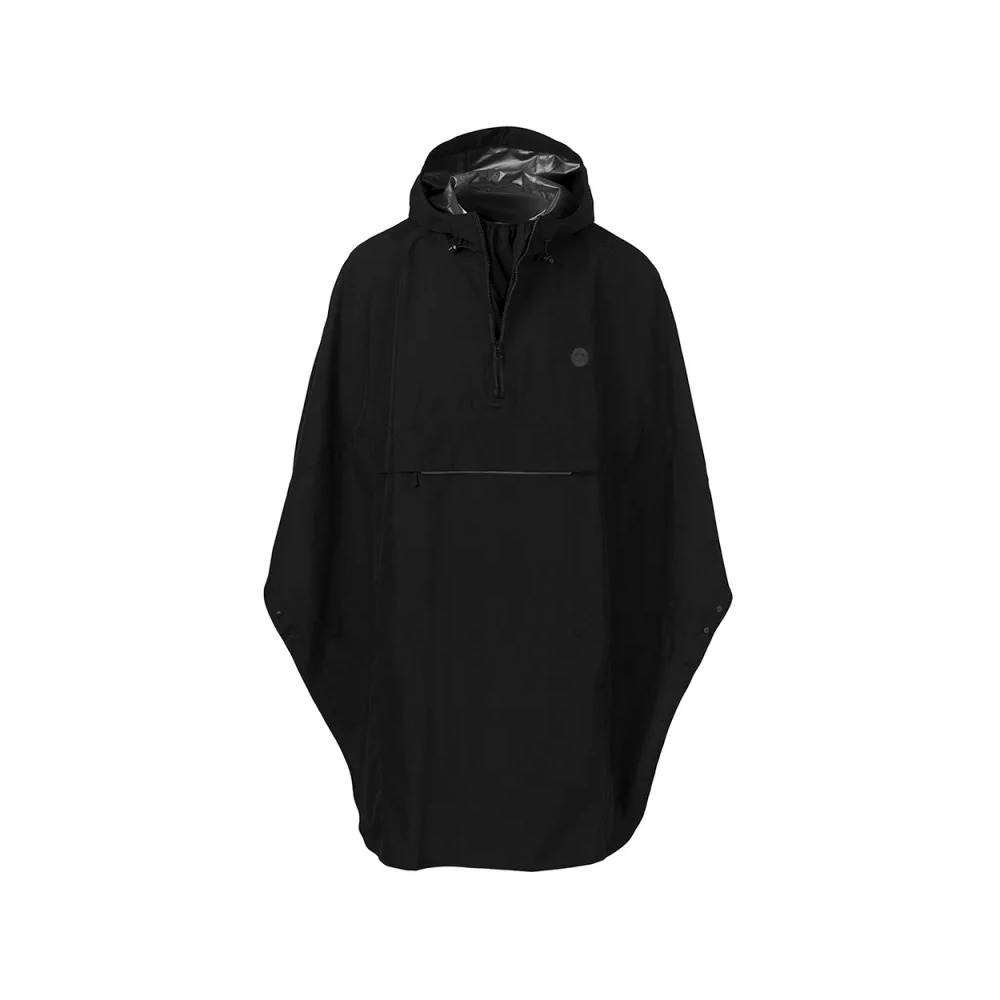 Essential Grant Poncho Black One Size