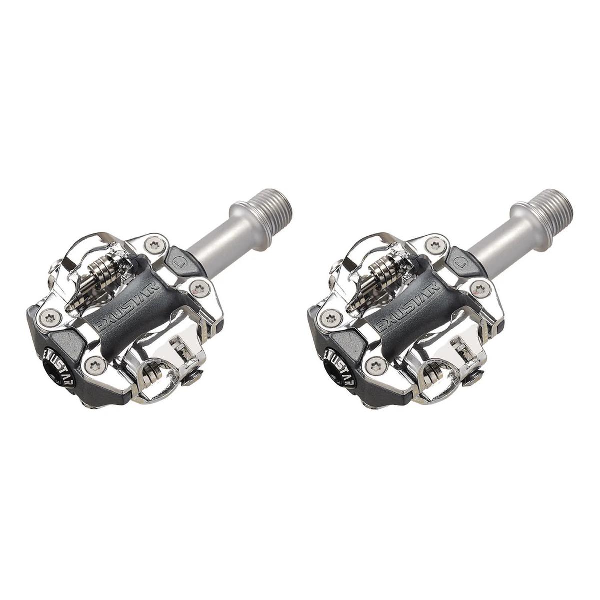 Coppia Pedali Mtb SPD E-PM213 Alluminio