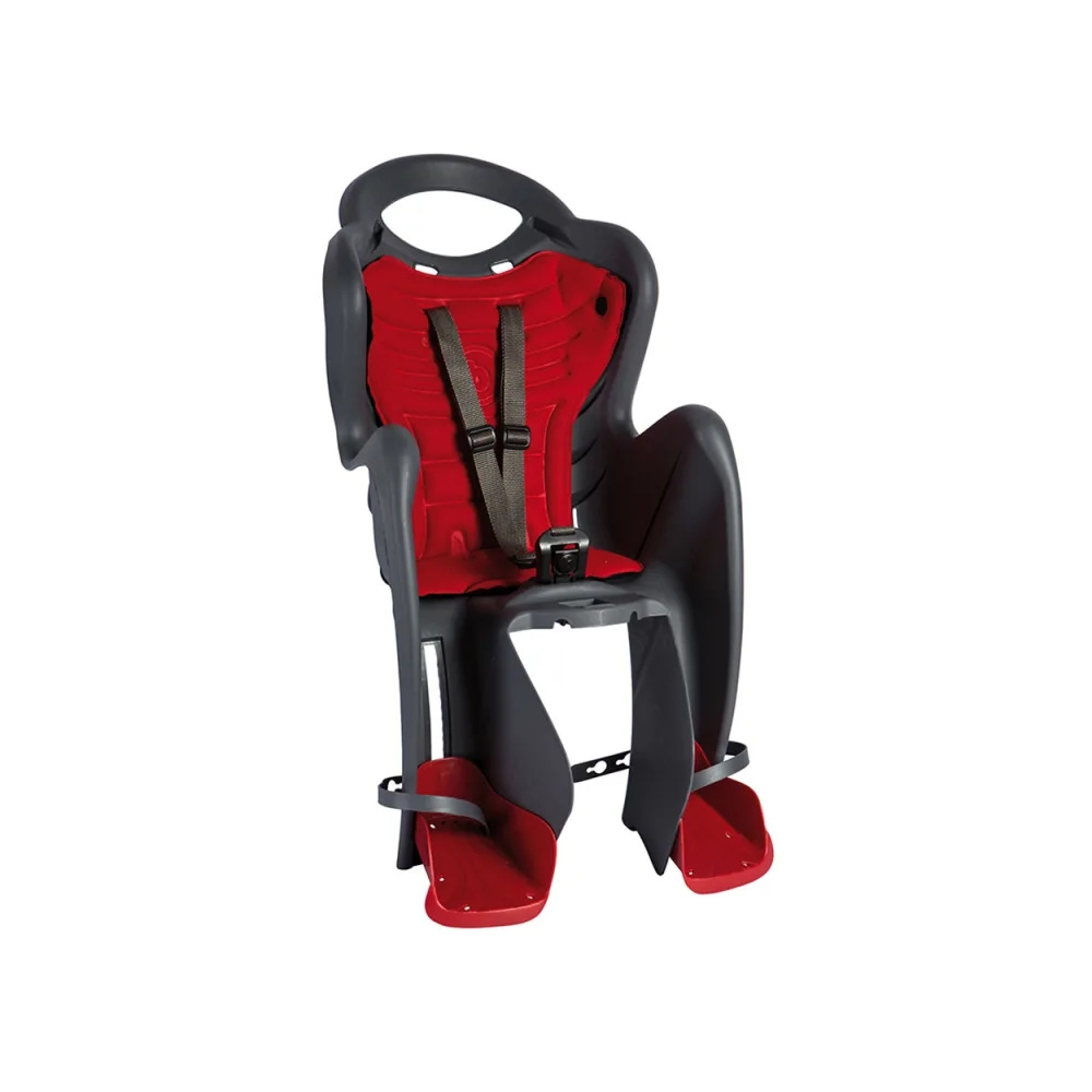 Rear Baby Seat Mr FOX Rack Mount (Clamp) 120-185mm Grey