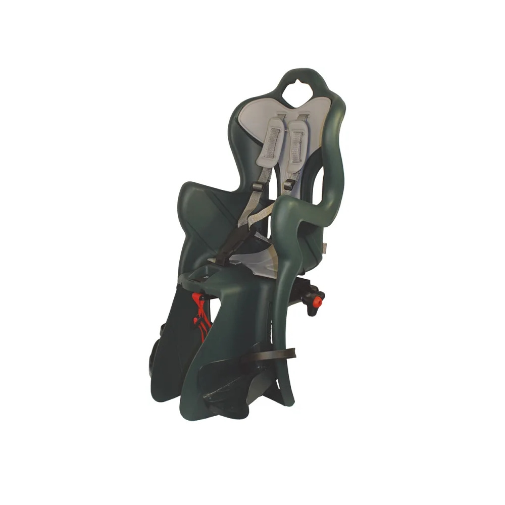 Rear Baby Seat B-One Rack Mount (Clamp) 120-185mm Green