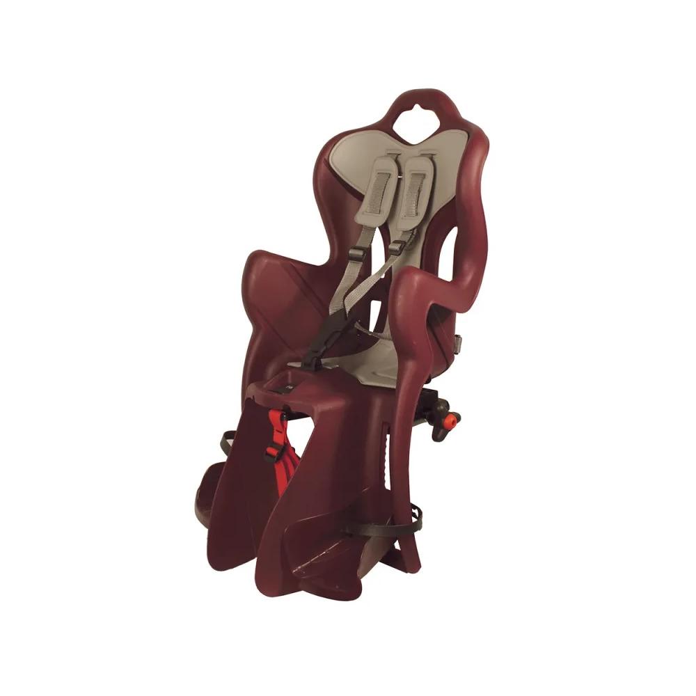 Seggiolino Posteriore B-One Attacco al Portapacchi (Clamp) 120-185mm Rosso